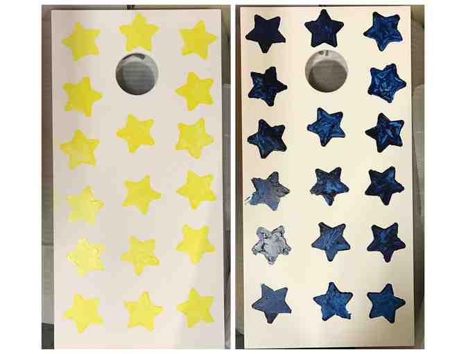 Made at Meeting Street: Corn Hole Bean Bag Toss Games, Stars