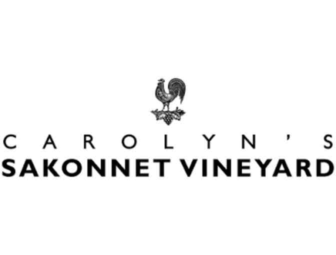 Carolyn's Sakonnet Vineyard Tour and Tasting