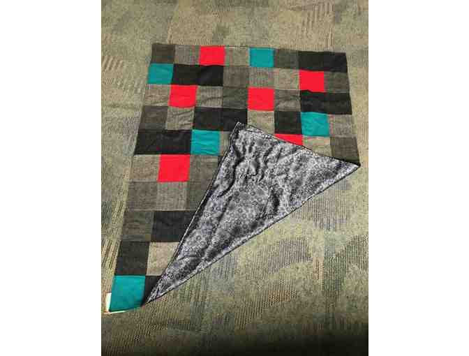 Hand Made Wool Patch-Work Quilt