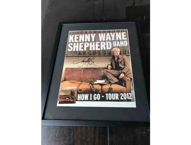 Kenny Wayne Shepherd Autographed CD and Tour Poster