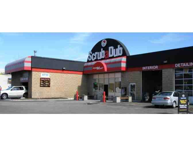 English Muffin and Scrub a Dub Auto Wash Center
