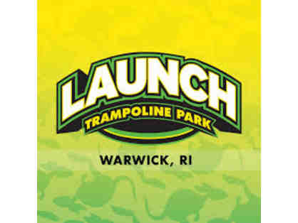 Four (4) Passes to Launch Trampoline Park