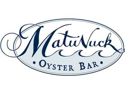 Matunuck Oyster Bar $50 Gift Card