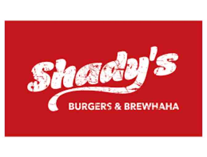 Shady's Burgers and Brewhaha Gift Card