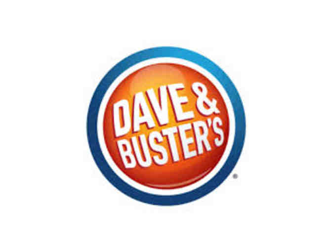 Dave and Busters - 2 Power Cards