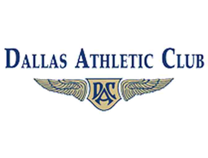Dallas Athletic Club - Private Tennis Lessons and Lunch