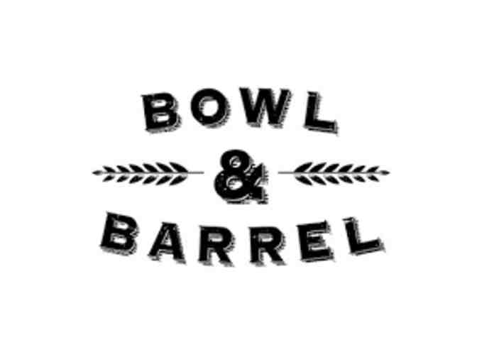 Bowl & Barrel, Party for 8 People