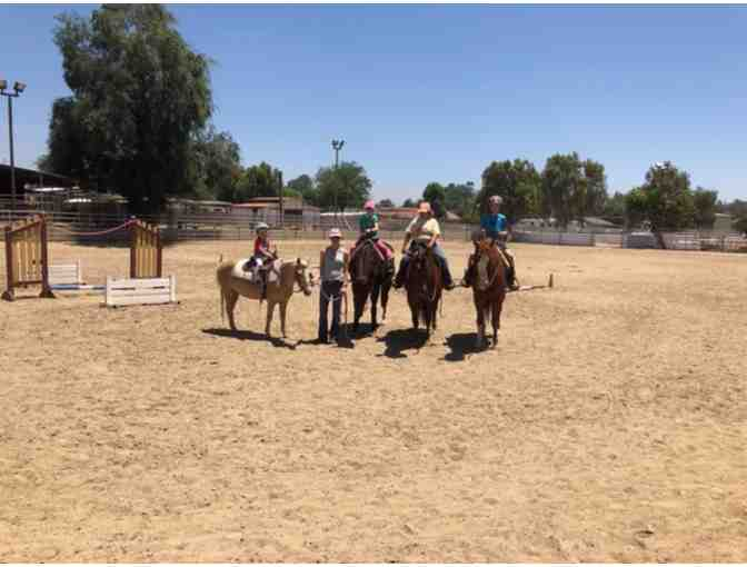 (2) One Hour Private Horseback Riding Lessons in Norco