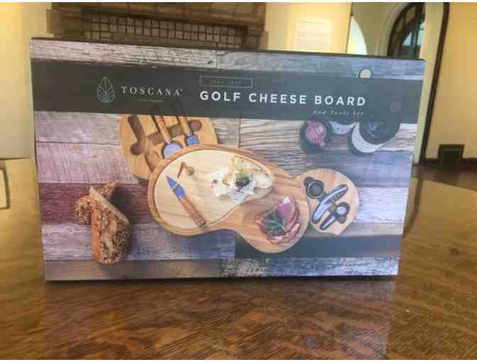 Golfing Cheese Board