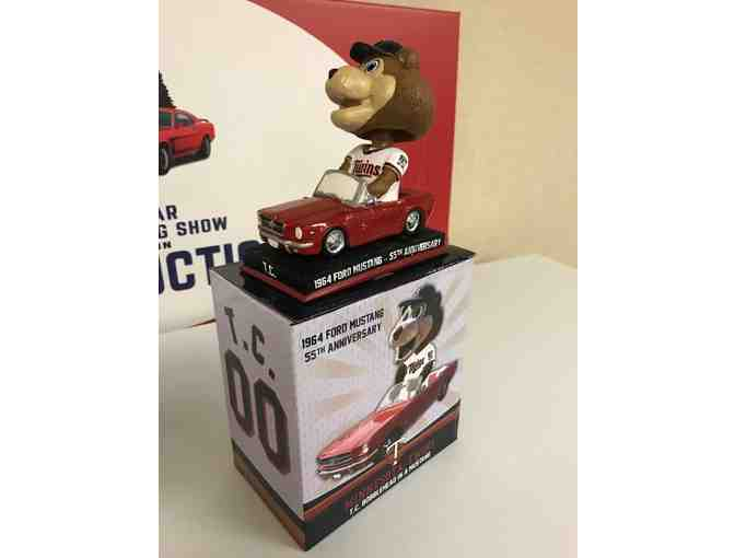 Twins 1964 Ford Mustang 55th Anniversary Bobblehead