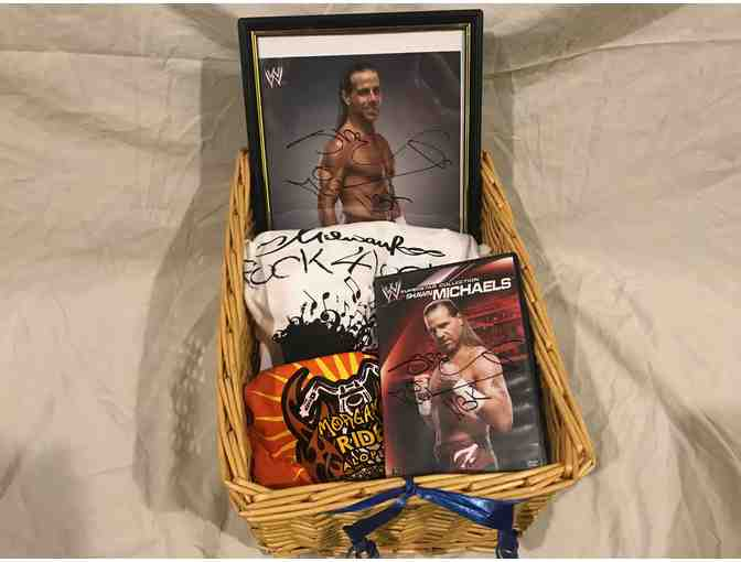 WWE Superstar Shawn Michaels, 'The Heartbreak Kid' Autographed Picture and DVD