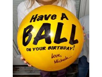 SENDaBALL - the greeting ball that you can mail!