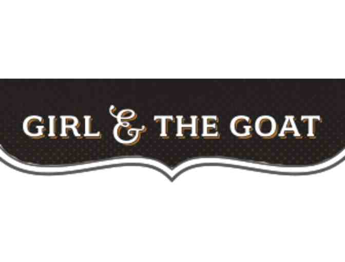 Girl and the Goat - $100 Gift Certificate
