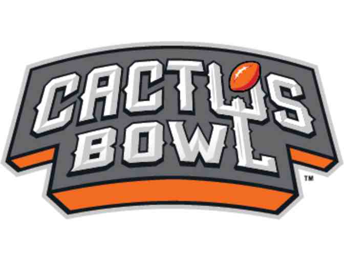 Cactus Bowl Ticket Package - 4 Tickets to the 2018 Cactus Bowl & Parking Pass + Swag Bag