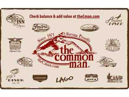 $25 Gift Card to the Common Man