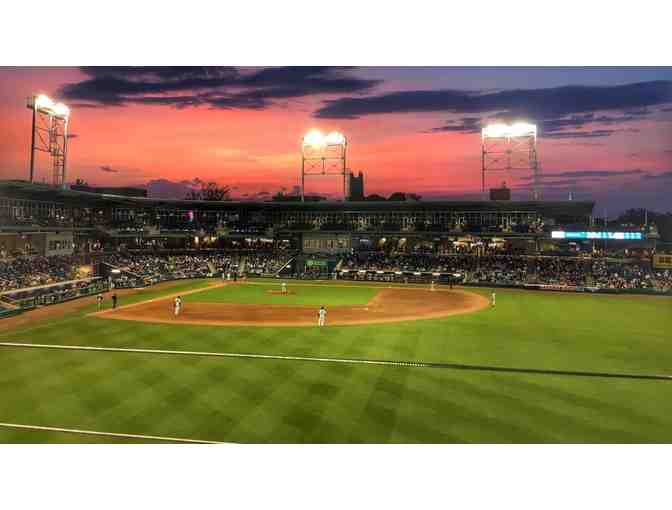 4 Right Field Porch Tickets to Hartford Yard Goats Game - Photo 1