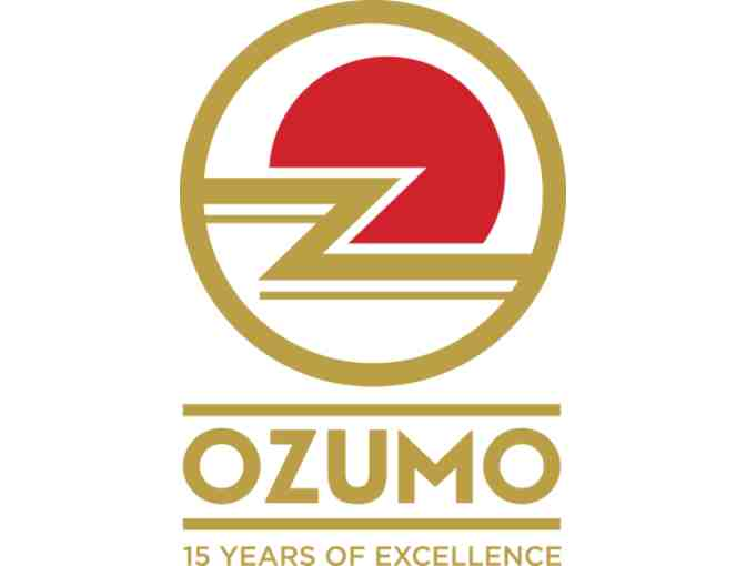 Ozumo Contemporary Japanese Cuisine, San Francisco:  $100 Gift Certificate