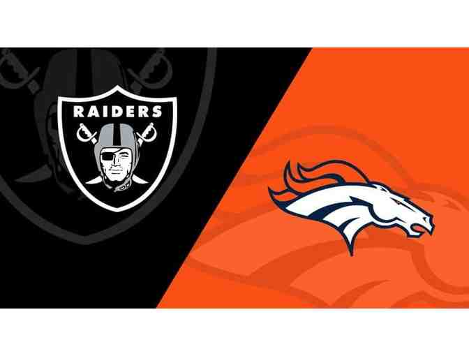 2 Raiders @ Broncos Tickets - Photo 1