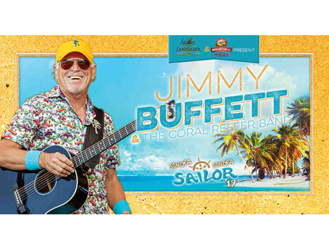 2 Jimmy Buffett VIP Tickets at the Xfinity Center on Saturday, August 10 - Photo 1