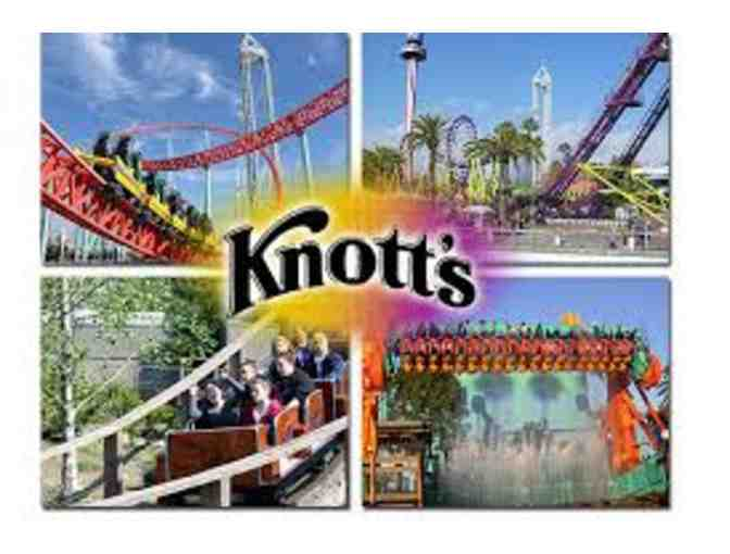 Knott's Berry Farm #1 - 2 Theme Park Admission Tickets