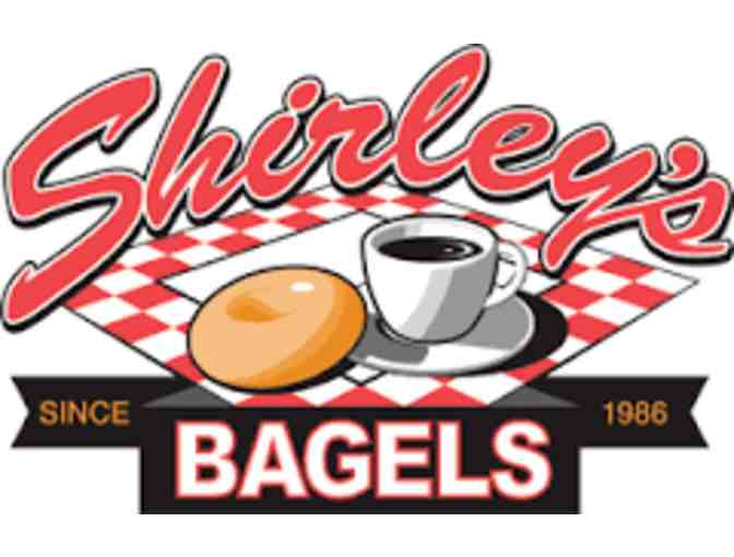 Shirley's Bagels -   $10 Gift card