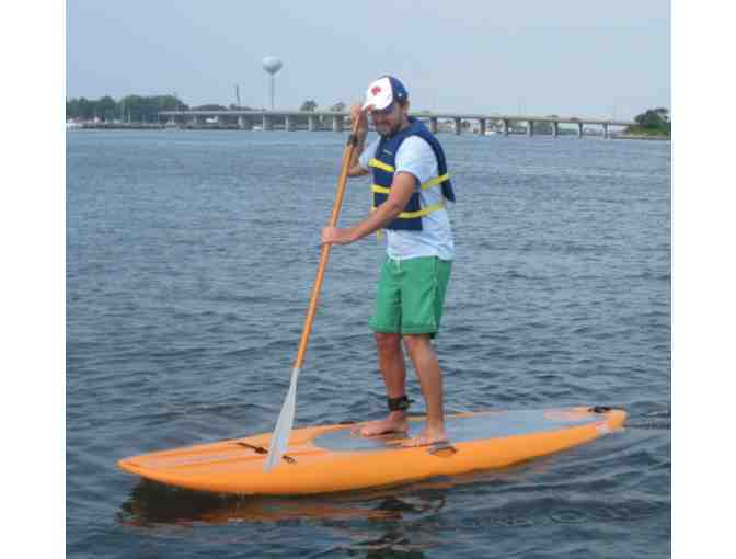 Newport Aquatic Center - (2) Stand Up Paddleboards for 2 hours and 2 Hats NAC Hat