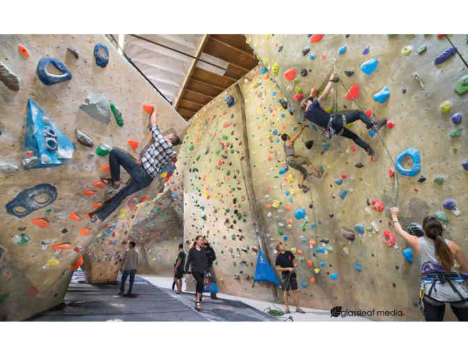Hanger 18  Rock Climbing Gyms - Gift Certificate for Introduction Class for Two #1