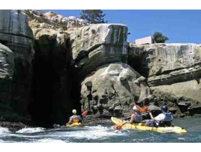Everyday California  - Sea Cave Kayak Tour for 4 People