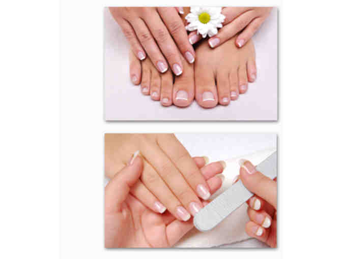 Finest Nails and Spa - Manicure/Pedicure Gift Certificate #1