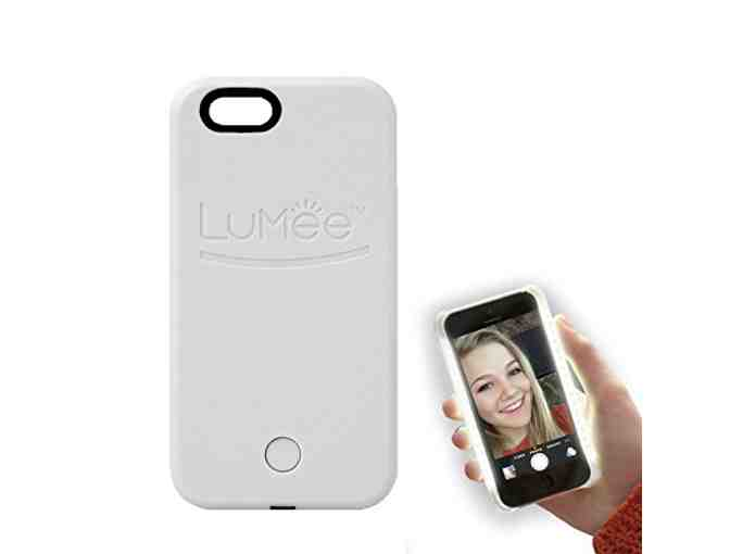 LuMee Original Light Up Case for IPhone 6 or 6s - White