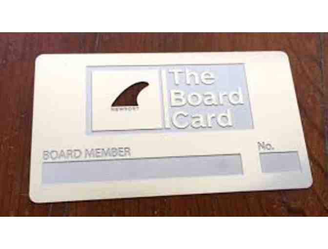 The Board Club  - One Month Membership