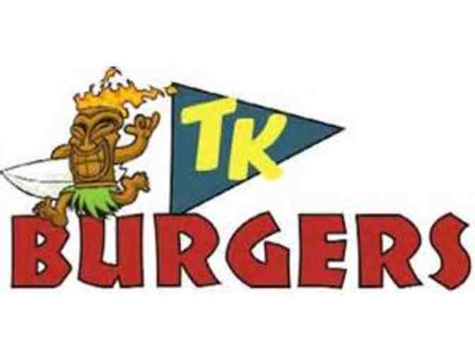 TK Burger Catering for 100 and Live Music by Cover Band SATISFACTION!