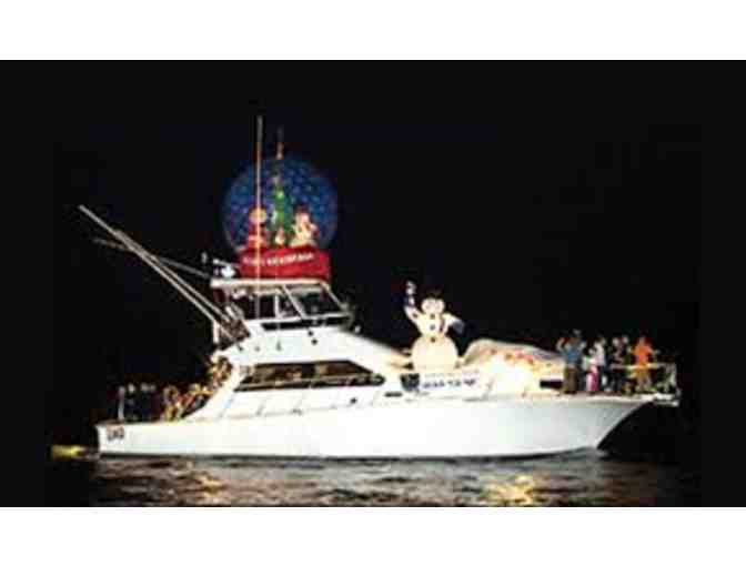 Newport Harbor Boat Parade Aboard Magnanimous Includes Wine