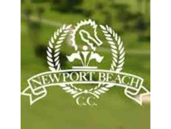 Newport Beach Country Club - Round of Golf for Three (3) with Tyler Terry