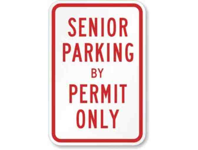 NHHS Senior Parking Pass for 2019-2020 #7