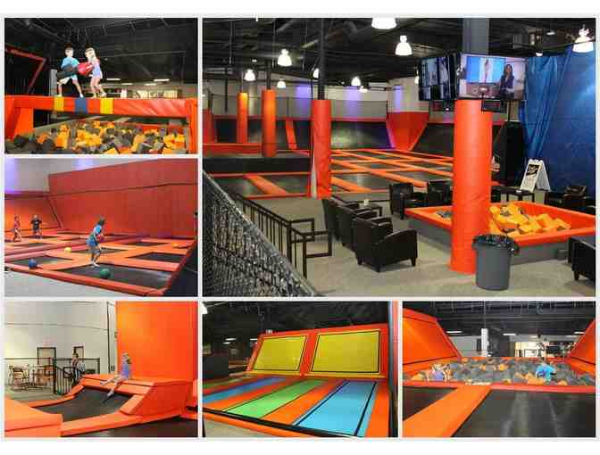 Big Air Trampoline Park - 2 One Hour Jump Passes
