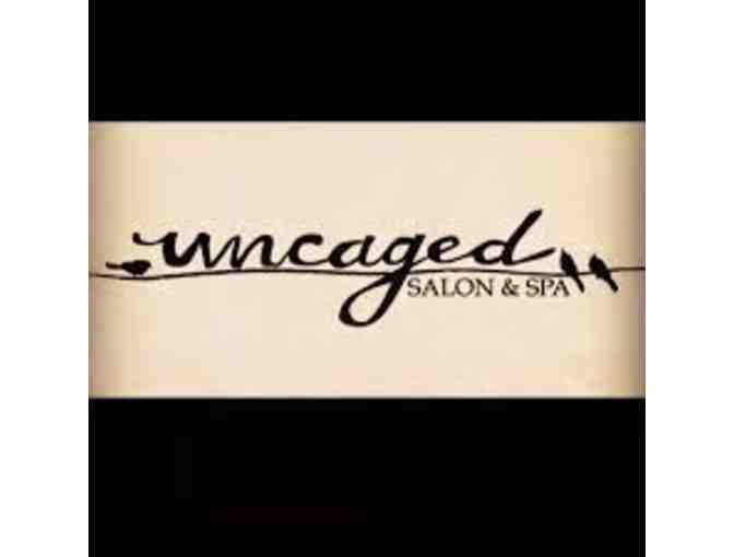Uncaged Salon and Spa - Haircut, Conditioning Treatment and Style with Amanda