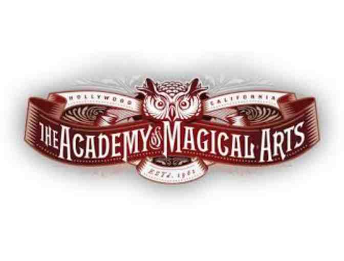 The Academy of Magical Arts at The Magic Castle - Guest Card for 4 Guests
