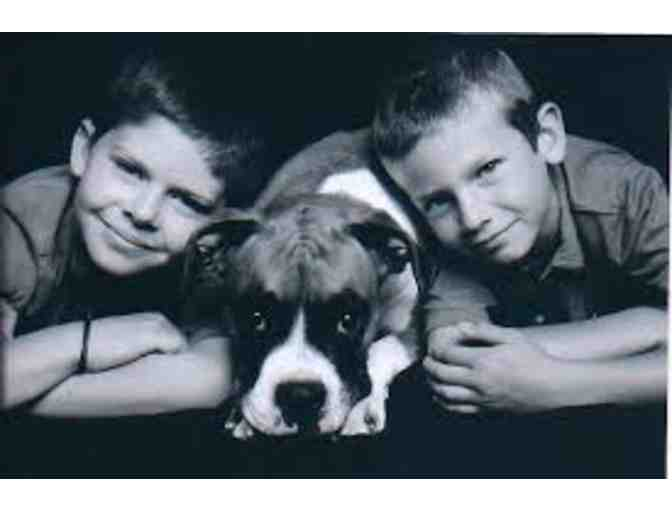 Classic Kids Photography - Pet Portrait for up to 2 Pets and 8x10 Art Print