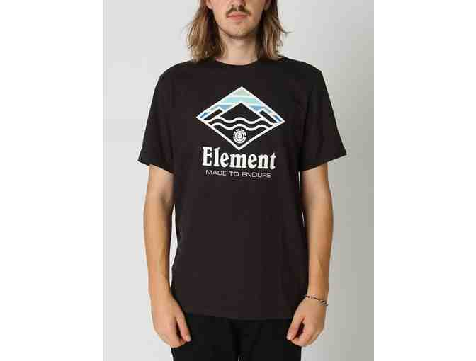 Element - Flint Black T-Shirt