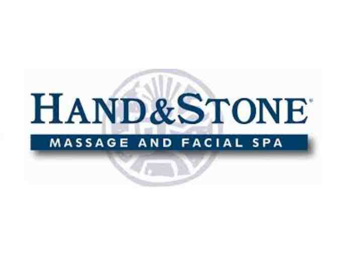 Hand & Stone Massage and Facial Spa gift certificate