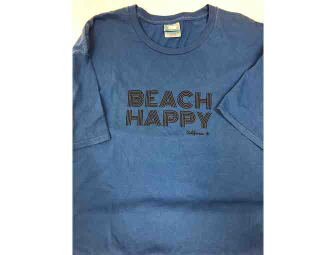 Beach Happy Royal Blue T-Shirt