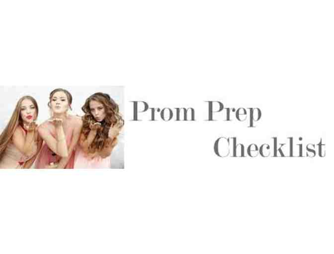 Prom Package - Lavender Blow Dry & Makeup and Kellie Long Boutonniere