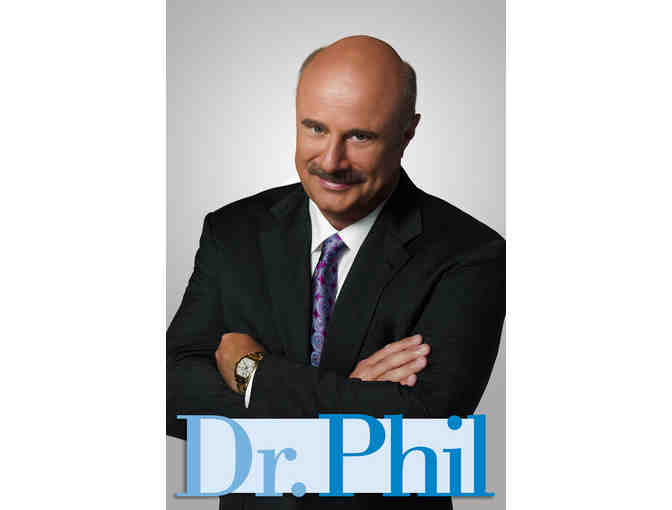 Taping of the DR. PHIL Show - 3 VIP Guest Passes & Paramount Studio Backlot Parking