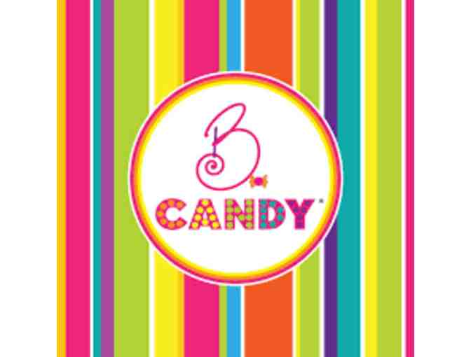 B Candy - $25 Gift Card and Assortment of Candy