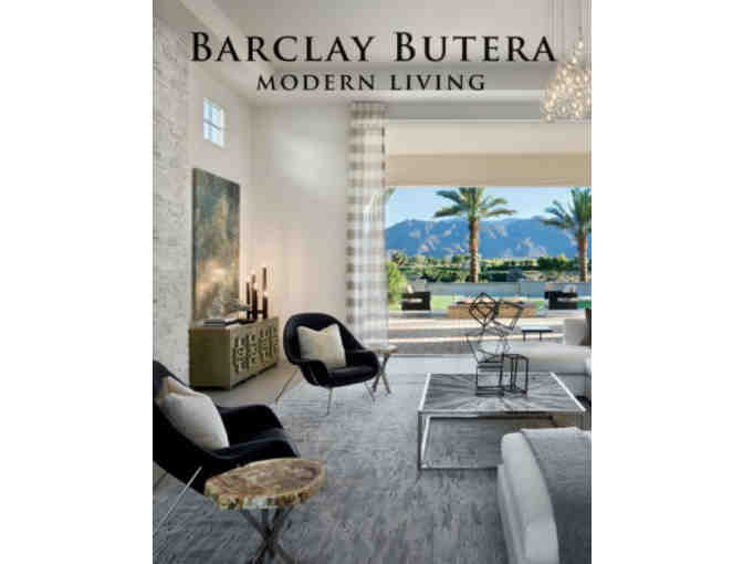 Barclay Butera Interiors $500 Gift Certificate and Modern Living Book