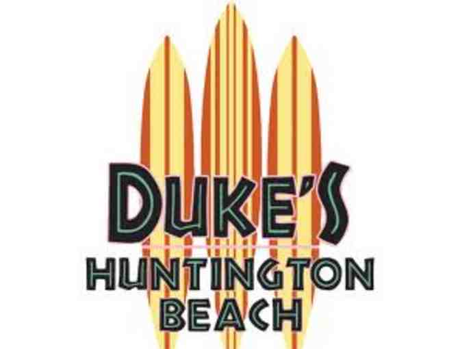 Duke's Huntington Beach $25 Gift Certificate