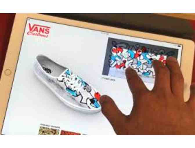 Customized  Vans Footwear