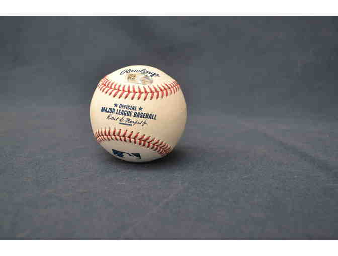Christian Vasquez Signed Baseball