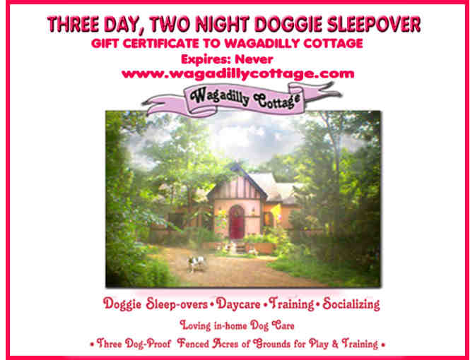 Three Day, Two Night Stay at Wagadilly Cottage
